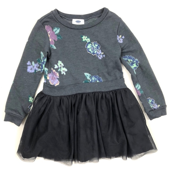 757bca416 Old Navy floral sweatshirt and tutu dress. M_5b034a843a112e8870c04b1a